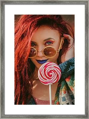 Summer Of Love  Framed Print by Visnja Milic