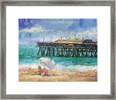 Summer Sun Framed Print by Jennifer Beaudet