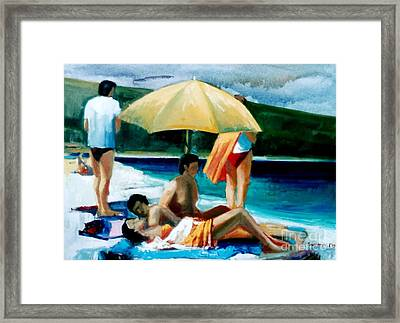 Summer Time Framed Print by George Siaba