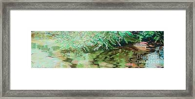Summertime Framed Print by Lucinda  Hansen