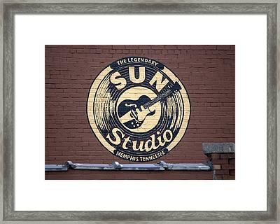 Sun Studio Memphis Tennessee Framed Print by Wayne Higgs
