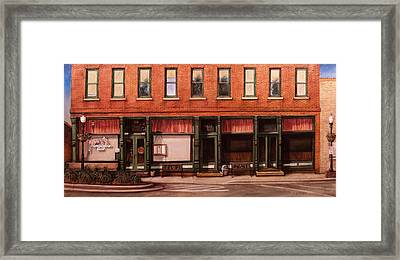 Sunday Morning Acworth Framed Print by Rick McClung