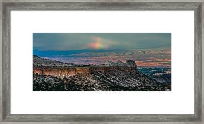 Sundog Framed Print