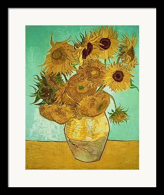 Flower Still Life Paintings Framed Prints