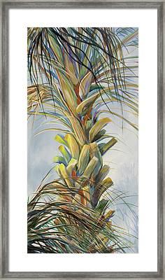 Sunlit Palm Framed Print by Michele Hollister - for Nancy Asbell