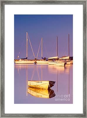 Sunrise At West Bay Osterville Cape Cod Framed Print by Matt Suess