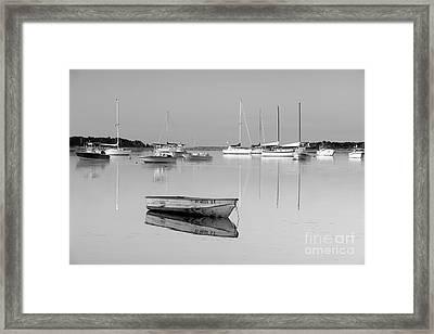 Sunrise In Osterville Cape Cod Massachusetts Framed Print by Matt Suess