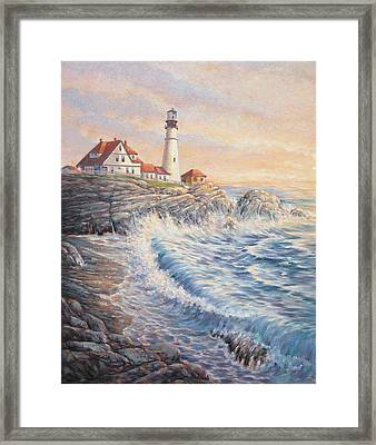 Sunrise Light Framed Print by Don Trout