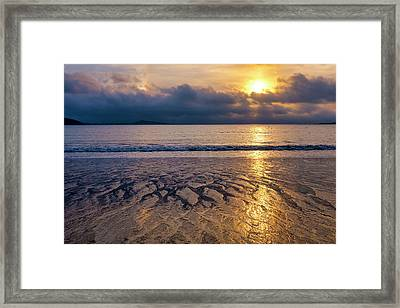 Framed Print featuring the photograph A Costa Da Morte by Fabrizio Troiani