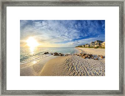 Sunset Naples Fl Framed Print