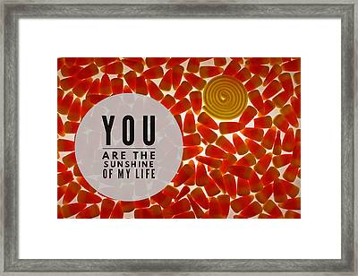 Framed Print featuring the photograph Sunshine by Bobby Villapando