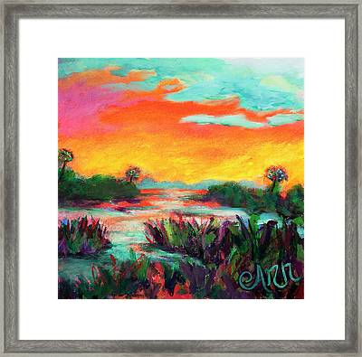 Sunshiney Framed Print