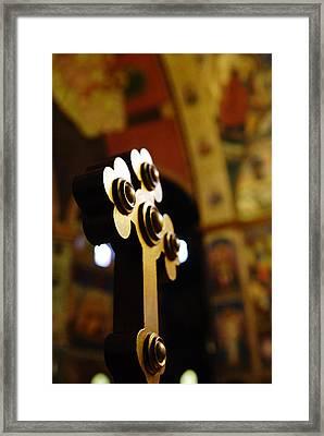 Sursum Corda Framed Print by Mihail Antonio Andrei