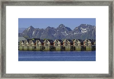 Svolvaer Norway Framed Print