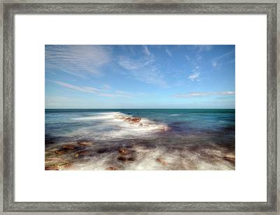 Swanage - England Framed Print by Joana Kruse