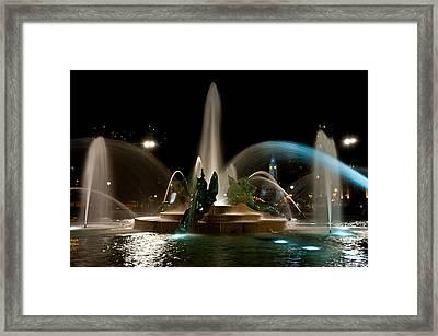 Swann Memorial Fountain Framed Print by Louis Dallara