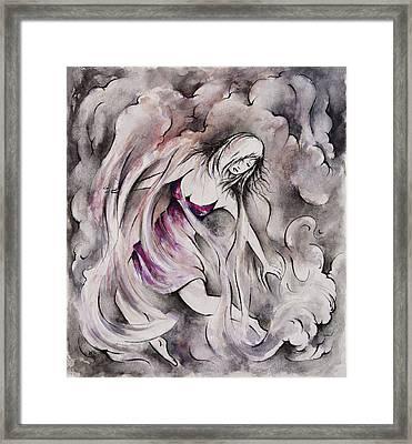 Swept Away Framed Print by Rachel Christine Nowicki