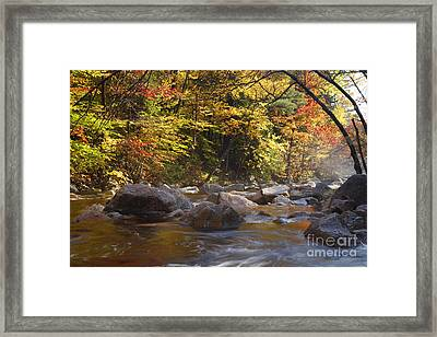 Swift River - White Mountains New Hampshire Usa Framed Print