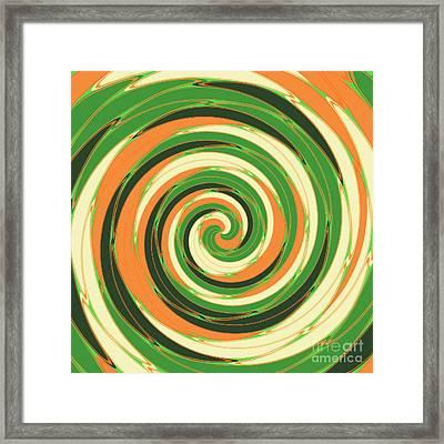 Swirl Framed Print by Gaspar Avila