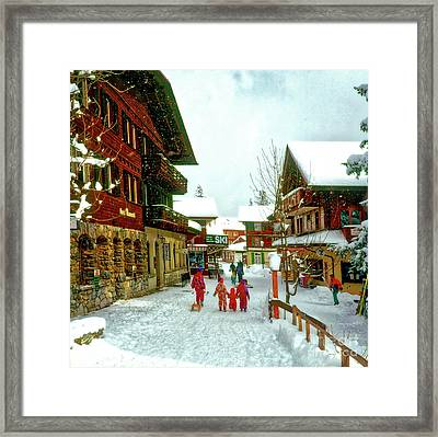 Switzerland Alps Framed Print