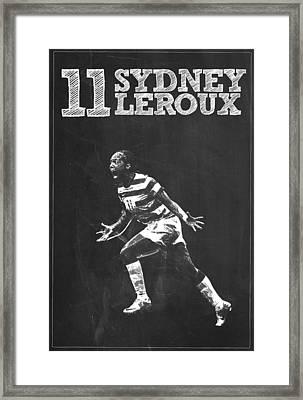 Sydney Leroux Framed Print by Semih Yurdabak