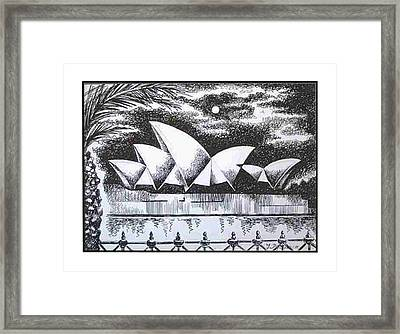 Sydney Opera House I Framed Print by Yelena Revis