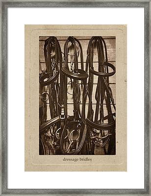 Tack Room Framed Print by JAMART Photography