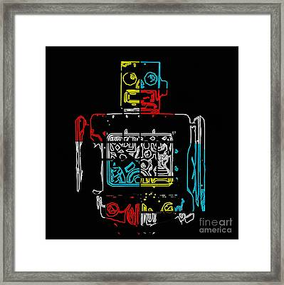 Take Me To Your Leader Framed Print by Edward Fielding