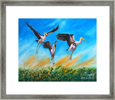 Take Off Framed Print by Ragunath Venkatraman