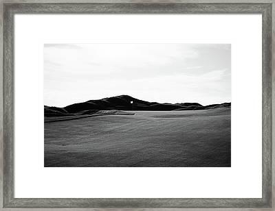 Take The High Ground Framed Print