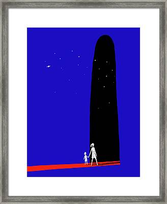 Tales From An Uncertain Future Framed Print