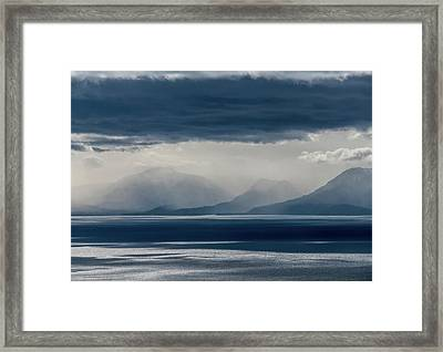 Tallac Stormclouds Framed Print