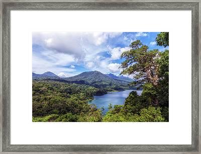 Tamblingan Lake - Bali Framed Print