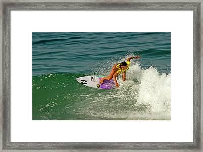 Tanika Hoffman Framed Print by Waterdancer
