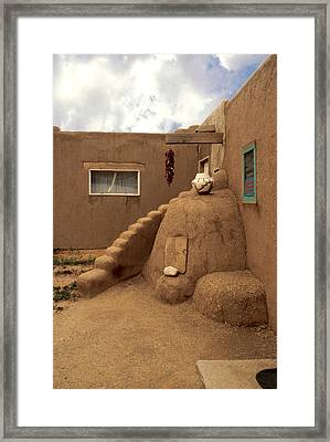 Taos Pueblo Framed Print by Jerry McElroy