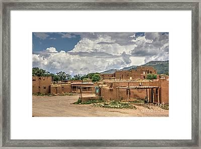 Taos Pueblo, New Mexico Framed Print