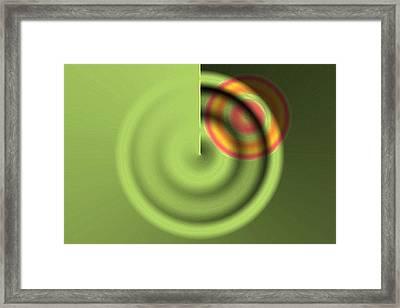Targe Framed Print