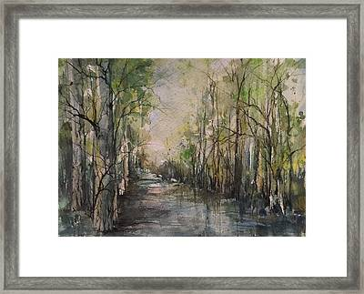 Bayou Liberty Framed Print by Robin Miller-Bookhout