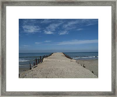 Framed Print featuring the photograph Tel Aviv Old Port 3 by Dubi Roman