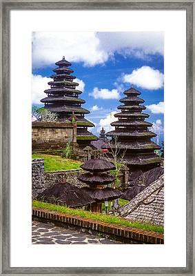 Temple City Framed Print