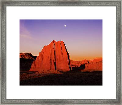 Framed Print featuring the photograph Temple Of The Sun by Norman Hall