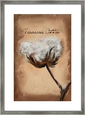 Tennessee Cotton Framed Print by Jai Johnson