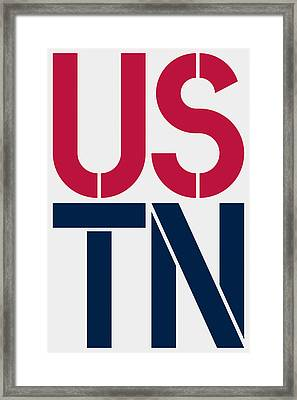 Tennessee Framed Print by Three Dots