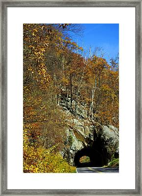 Tennessee Tunnel Framed Print