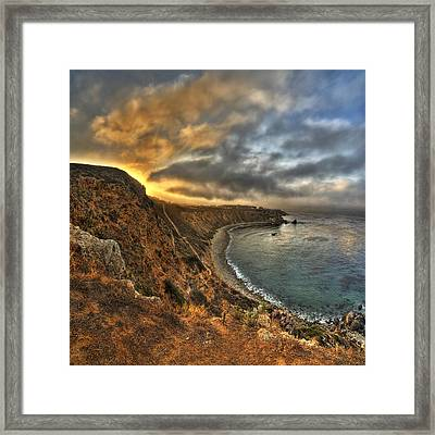 Terranea Sunrise Framed Print