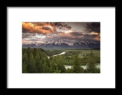 Cloudscape Framed Prints