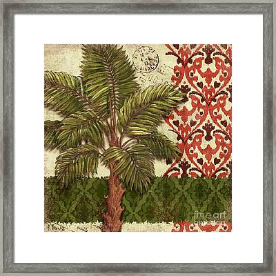 Thai Palm II Framed Print