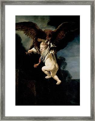 The Abduction Of Ganymede Framed Print