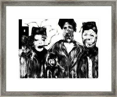 The Actors Framed Print