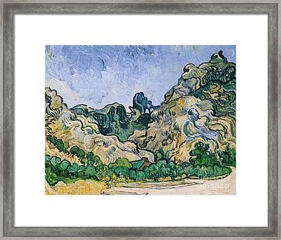 The Alpilles Framed Print